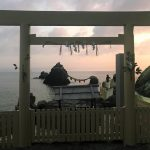 伊勢神宮の禊?夫婦岩の朝日は、福岡糸島の二見ヶ浦へ沈む!朝日と夕陽はパワースポット!