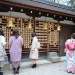 河合神社の鏡絵馬!美人になりたい!京都の神社で美人祈願!