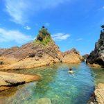 ここはハワイ島⁈ハワイの海が熊野にあった~‼ 熊野で泳いで夏を満喫しよう!浄化&癒しだよ